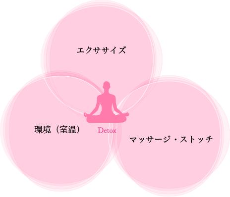 エクササイズ 環境(室温) マッサージ・ストッチ Detox